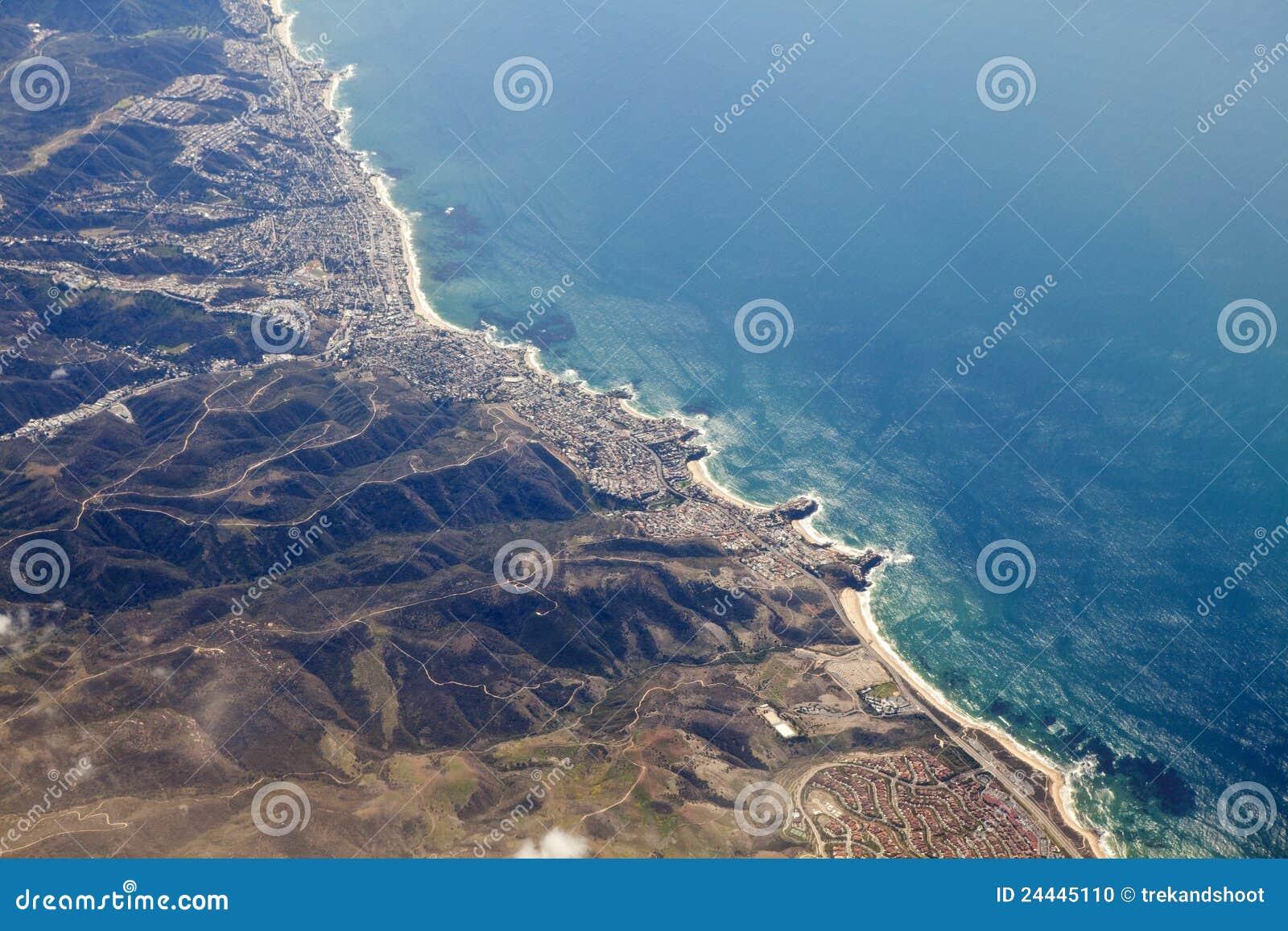 Laguna Beach-Kalifornien-Antenne