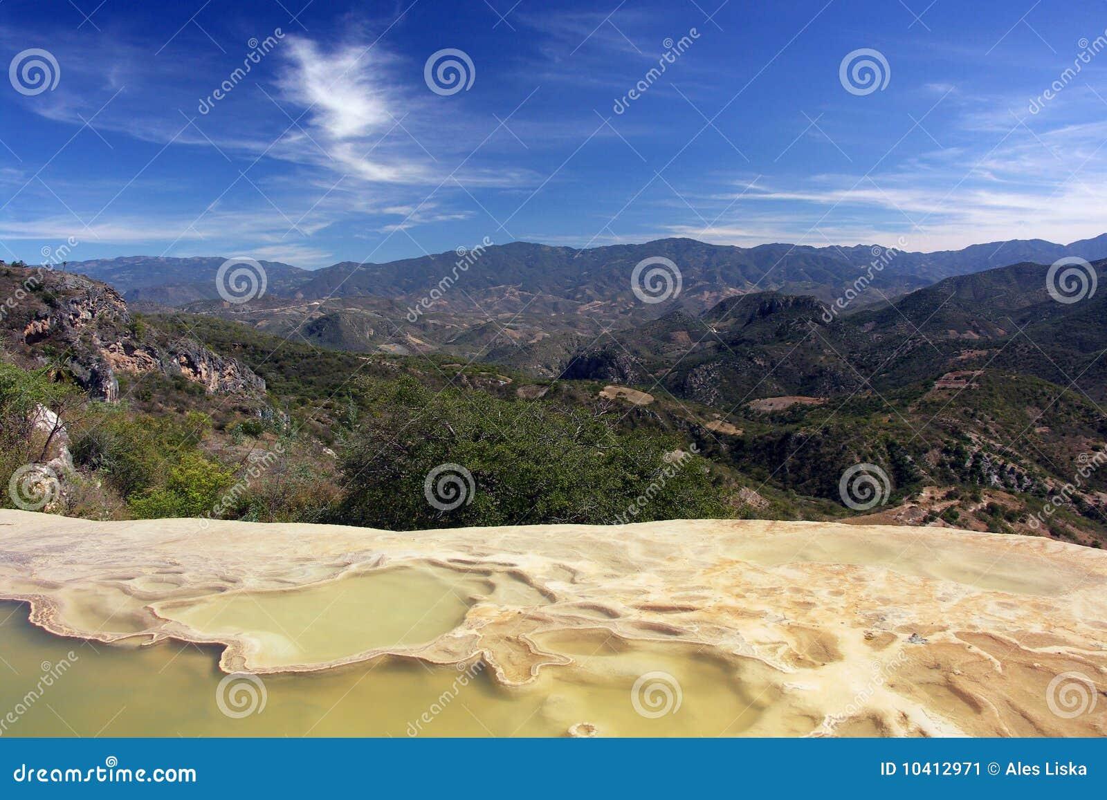 Laguna de la montaña