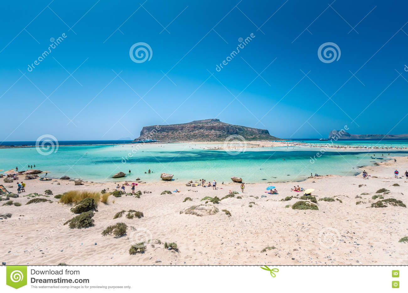 Laguna di Balos sull isola di Creta, Grecia