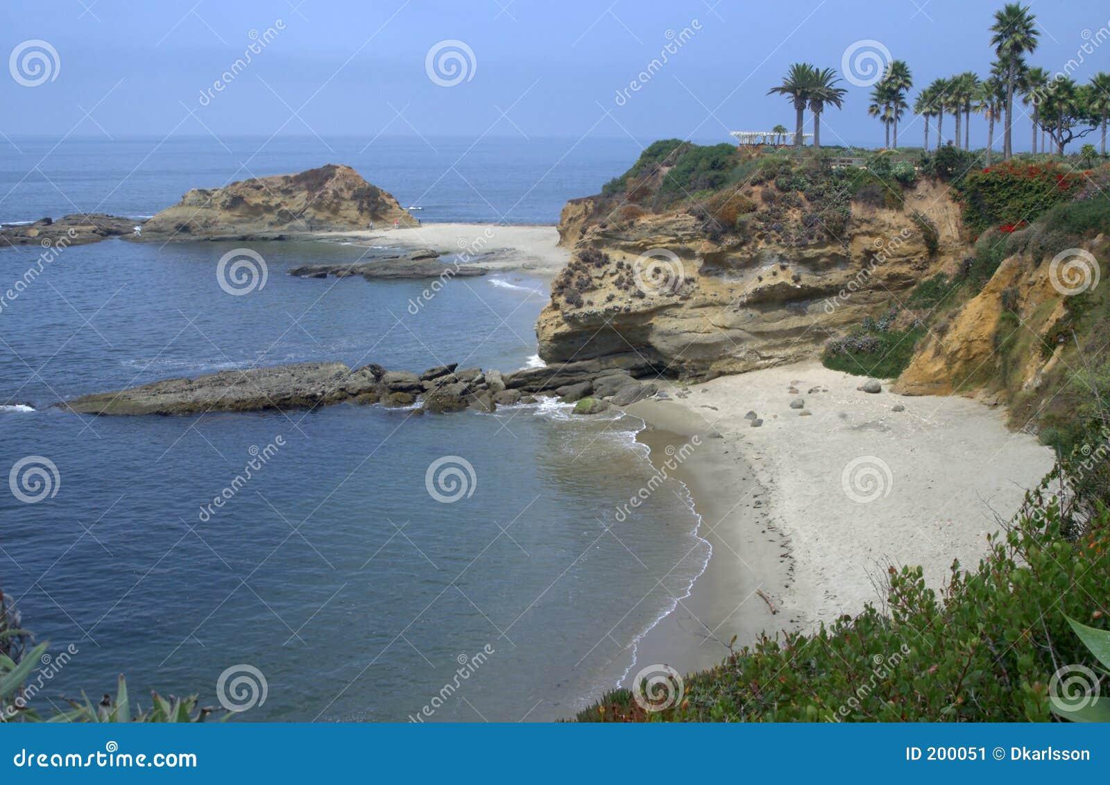 Laguna-Küstenlinie