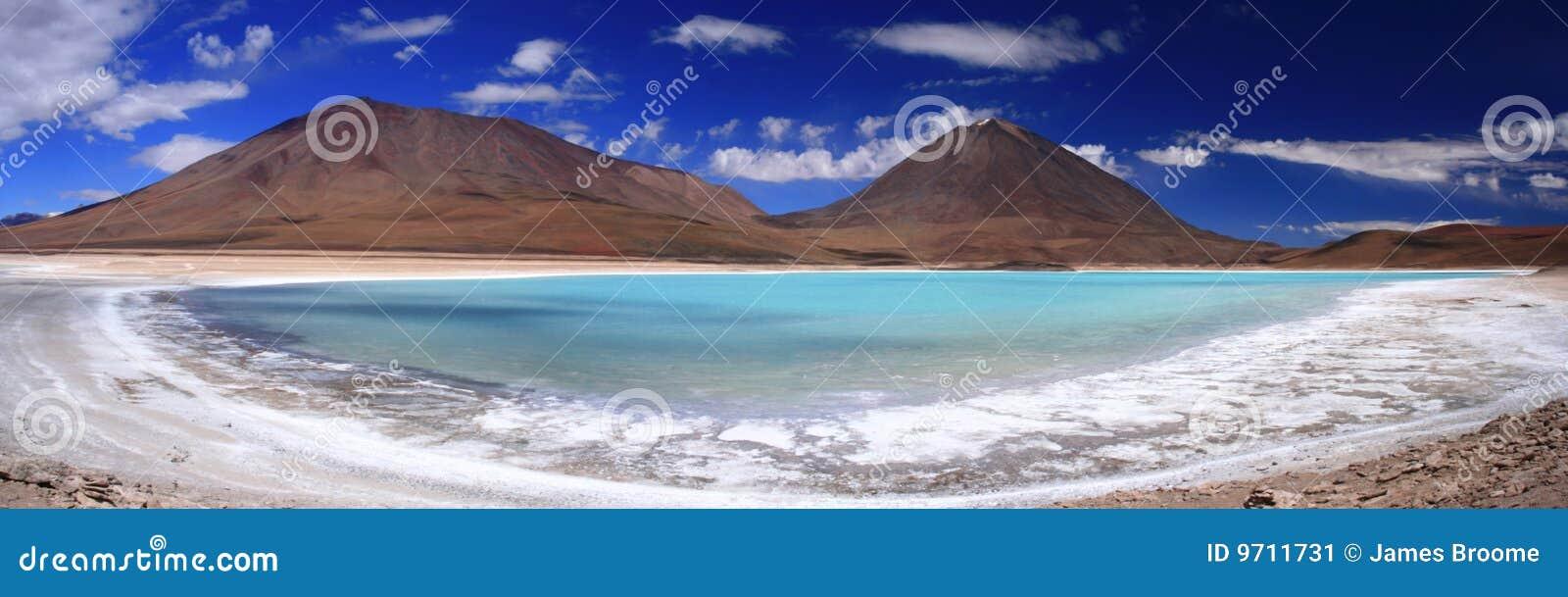 Laguna Verde & Licancabur Volcano Panorama