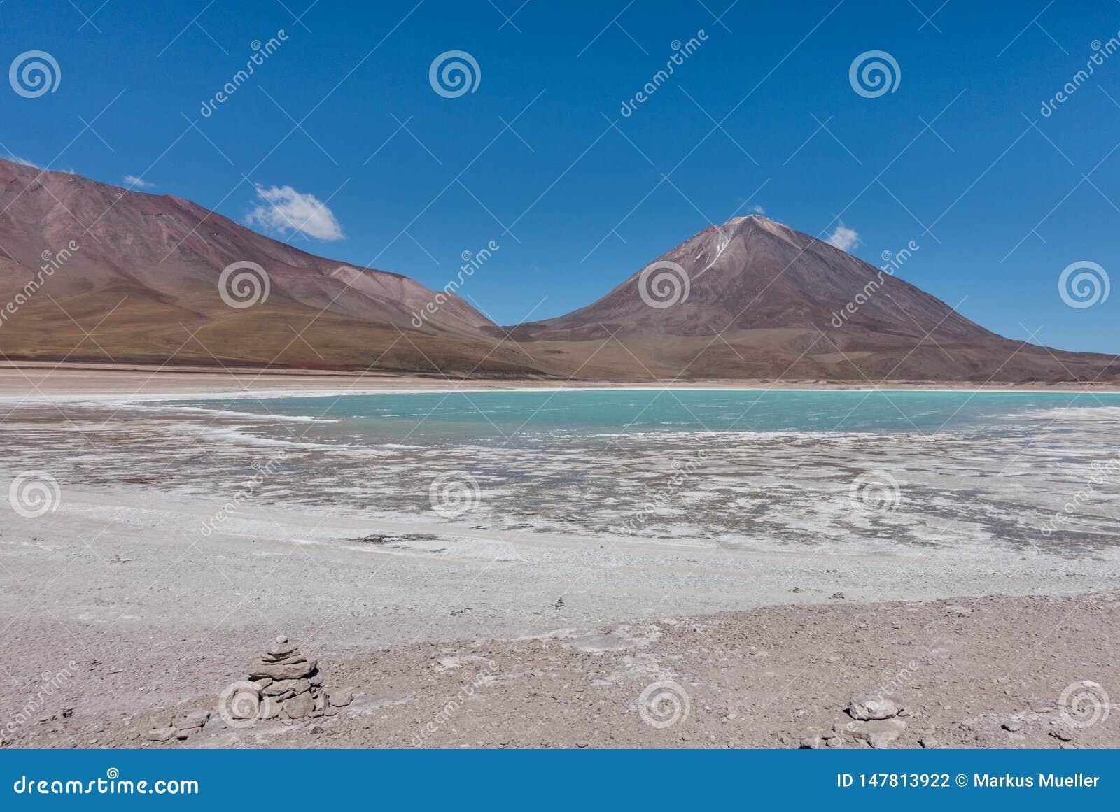 Laguna Verde, Salar de Uyuni: un posto sbalorditivo in boliviano Altiplano, vicino all Atacama nel Cile