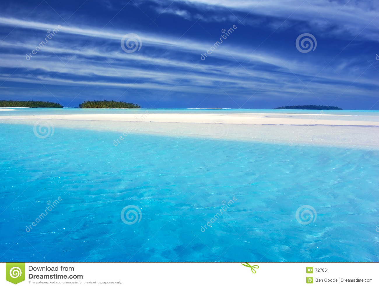 Lagune II de turquoise