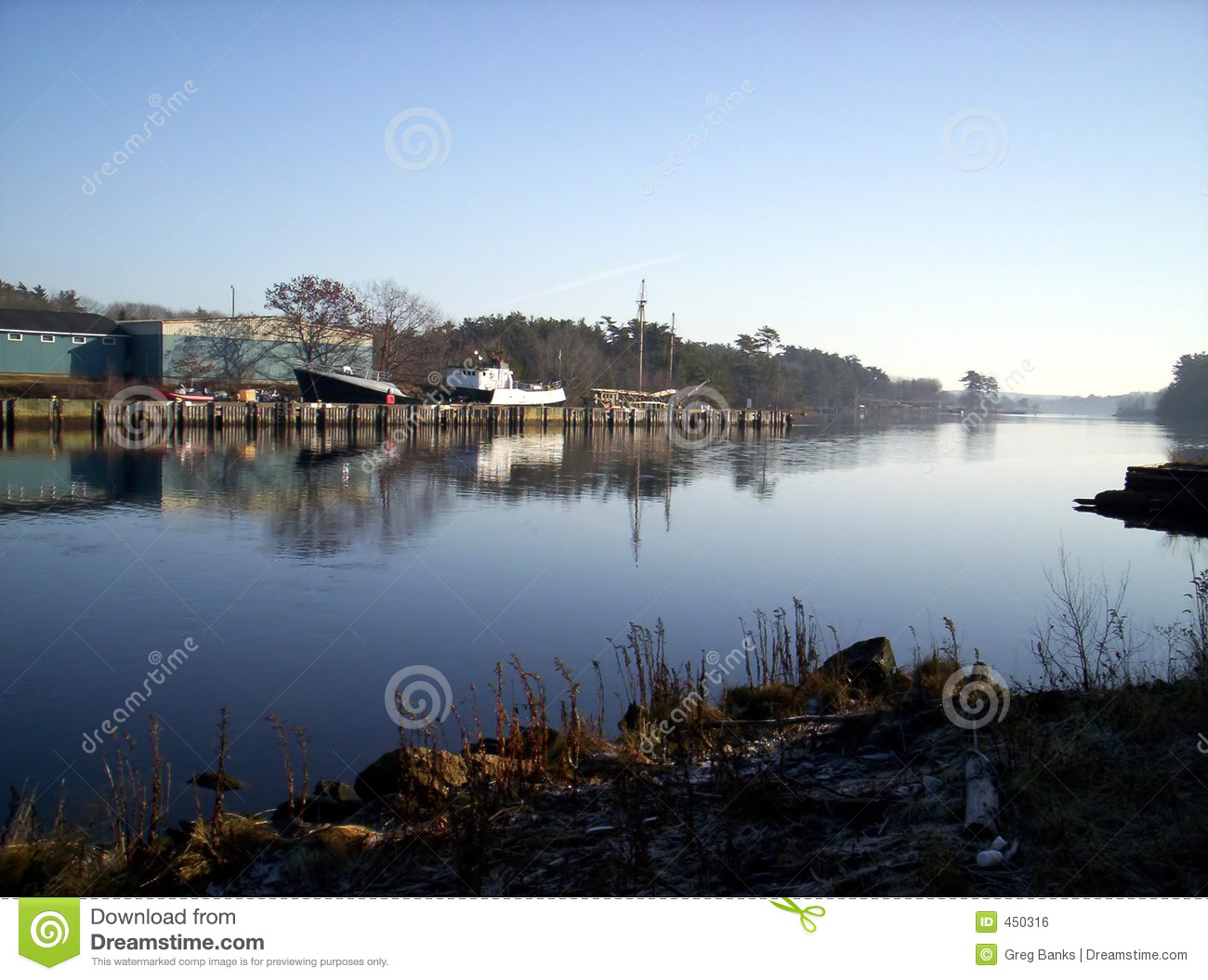 Download Lahave river stock photo. Image of reflected, canada, scotia - 450316