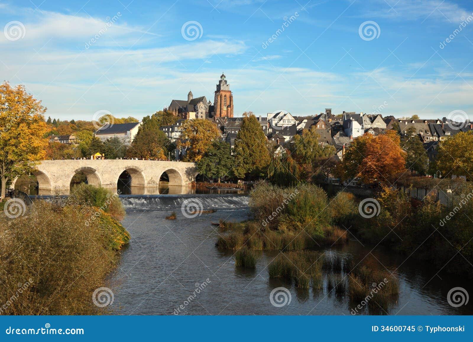 lahn river in wetzlar germany royalty free stock photo image 34600745. Black Bedroom Furniture Sets. Home Design Ideas