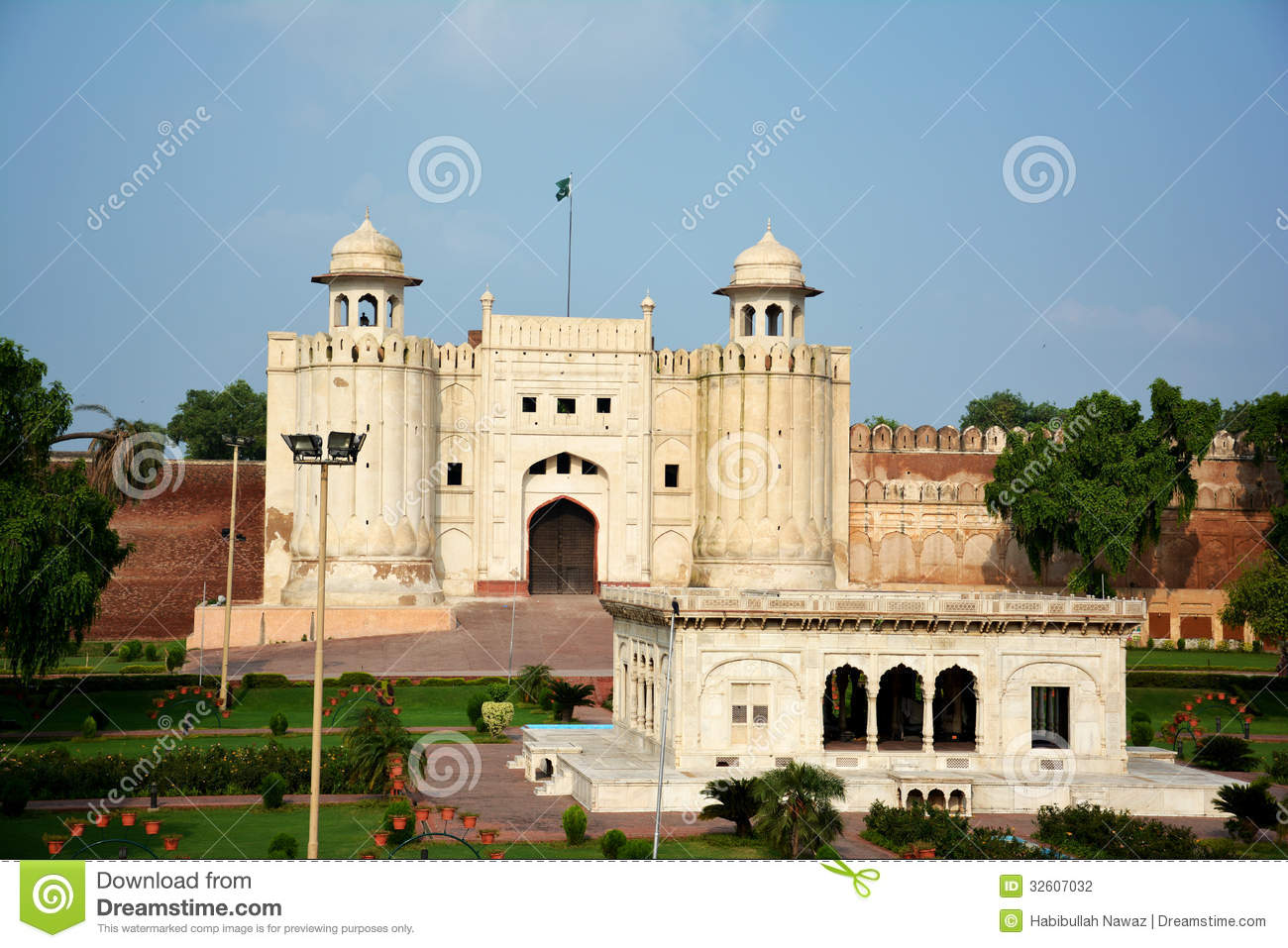 Lahore Fort and Tomb of Allama Iqbal