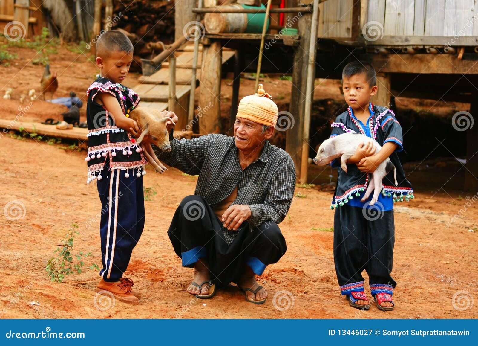 Lahu hill tribe
