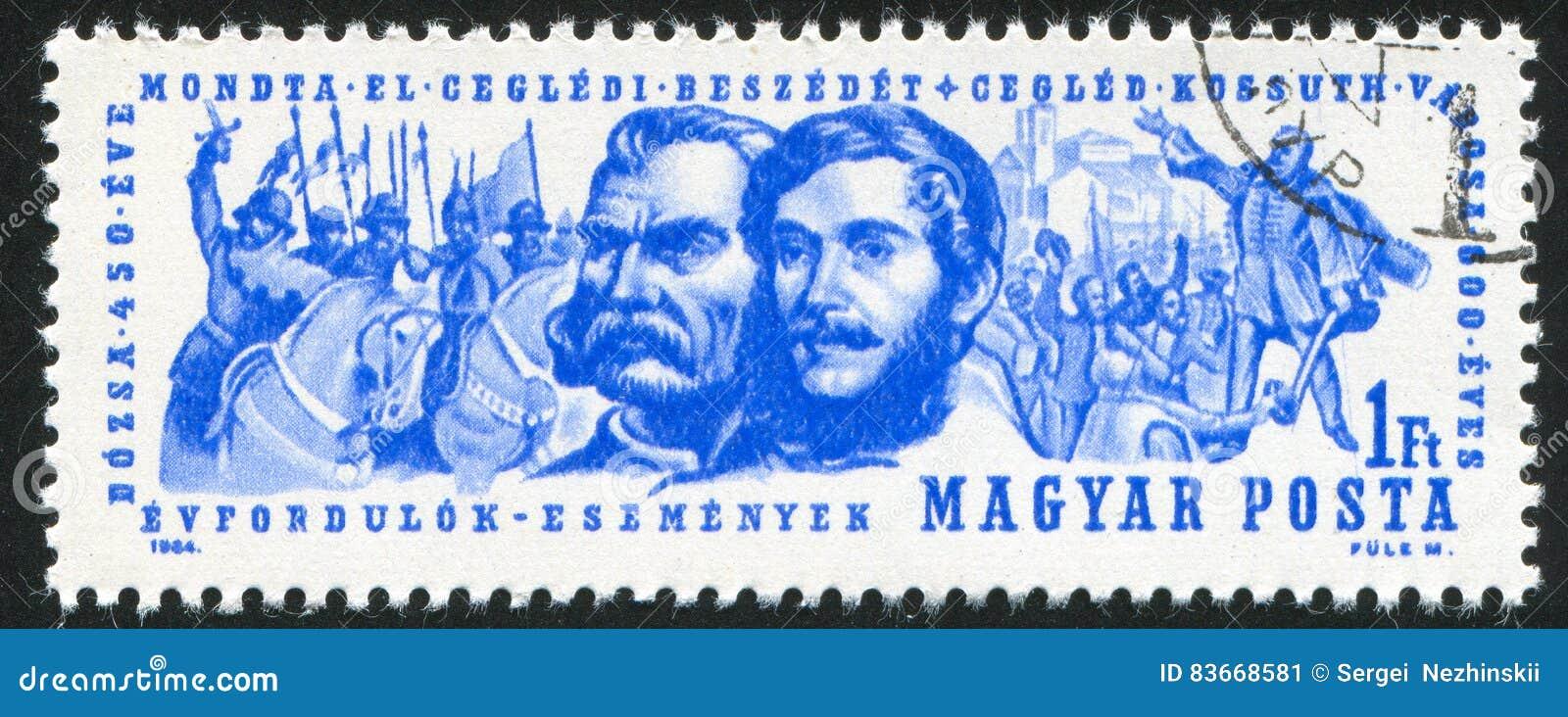 Lajos Kossuth And Gyorgy Dozsa Editorial Photo - Image of