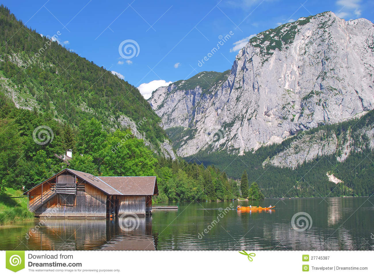 Lake Altaussee,Styria,Austria Royalty Free Stock Photography - Image: 27745387
