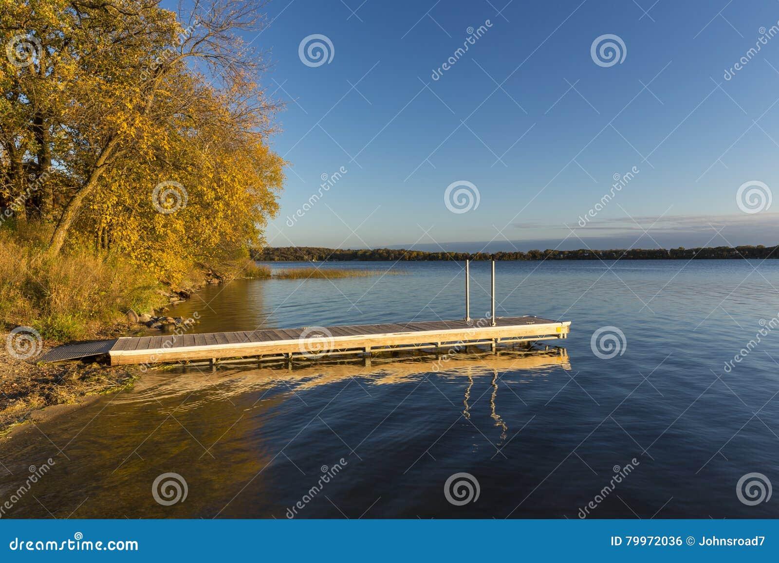 Lake Andrew In Autumn