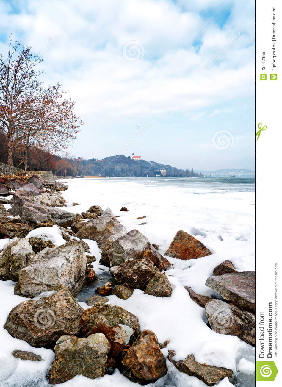 ... In Winter Time,Tihany Royalty Free Stock Photo - Image: 23442155