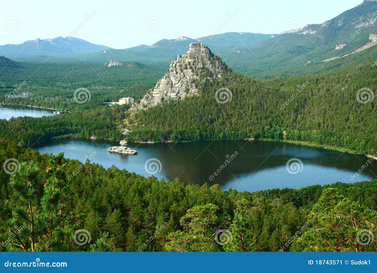 Borovoe Kazakhstan  city photos : Lake Borovoe In To Kazakhstan Stock Image Image: 18743571