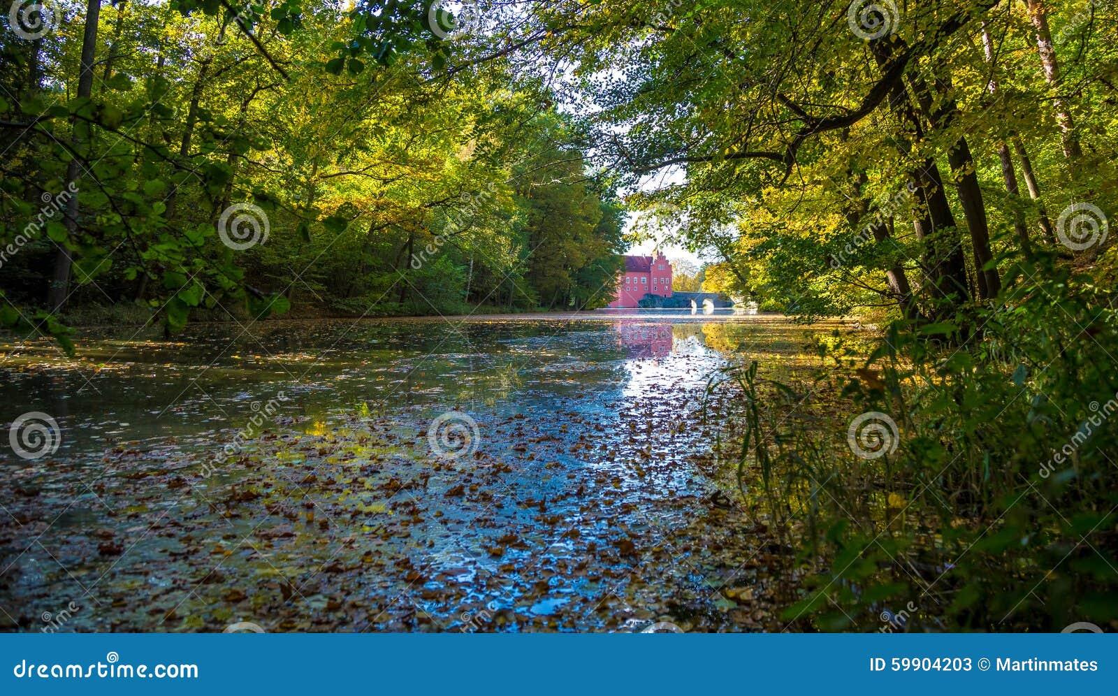 Lake in Cervena Lhota