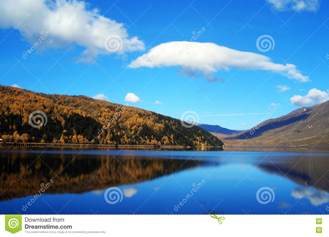 Lake Clouds And Sky Picture Image 5825129