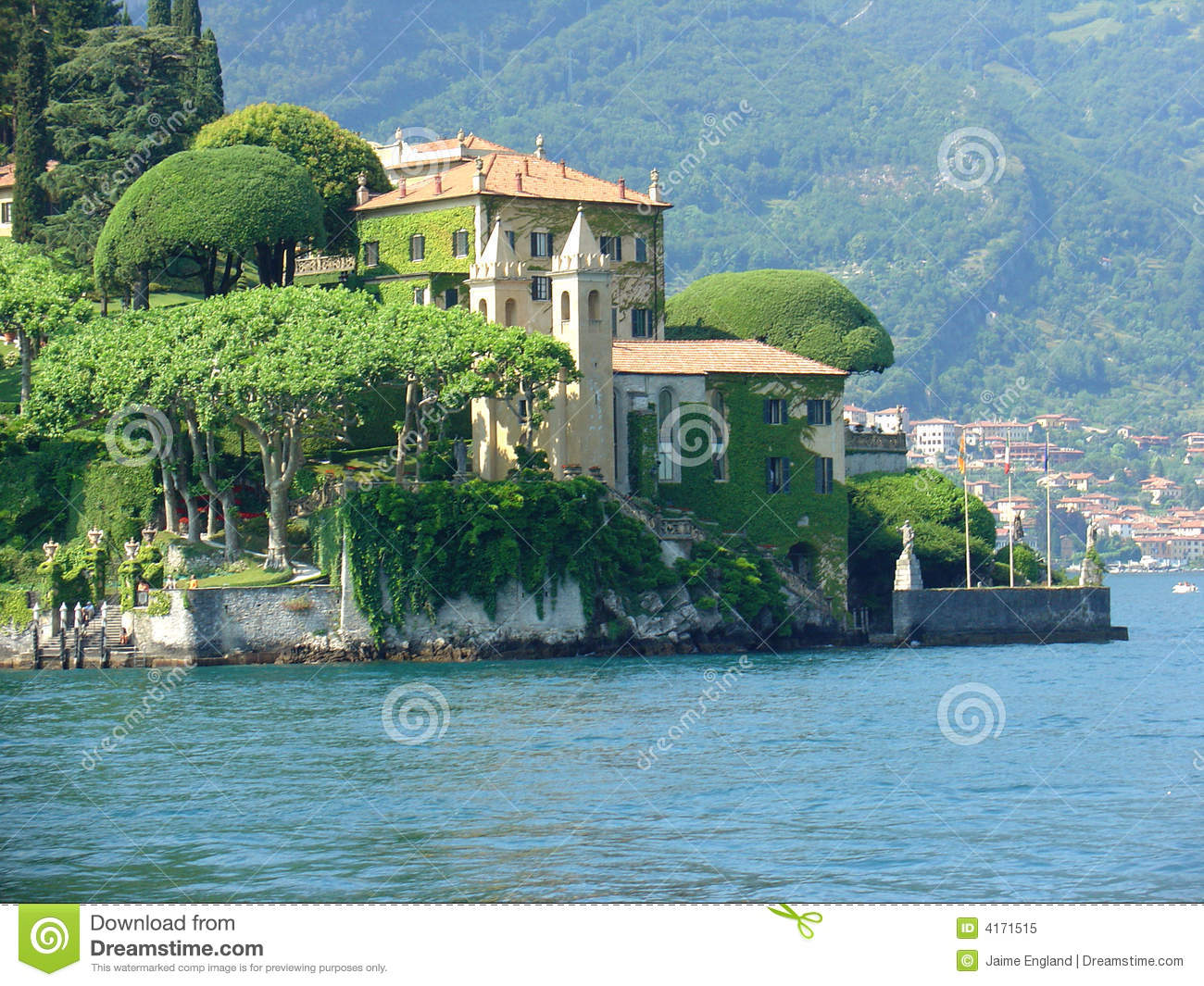 lake como italy stock image image of italy como trees. Black Bedroom Furniture Sets. Home Design Ideas