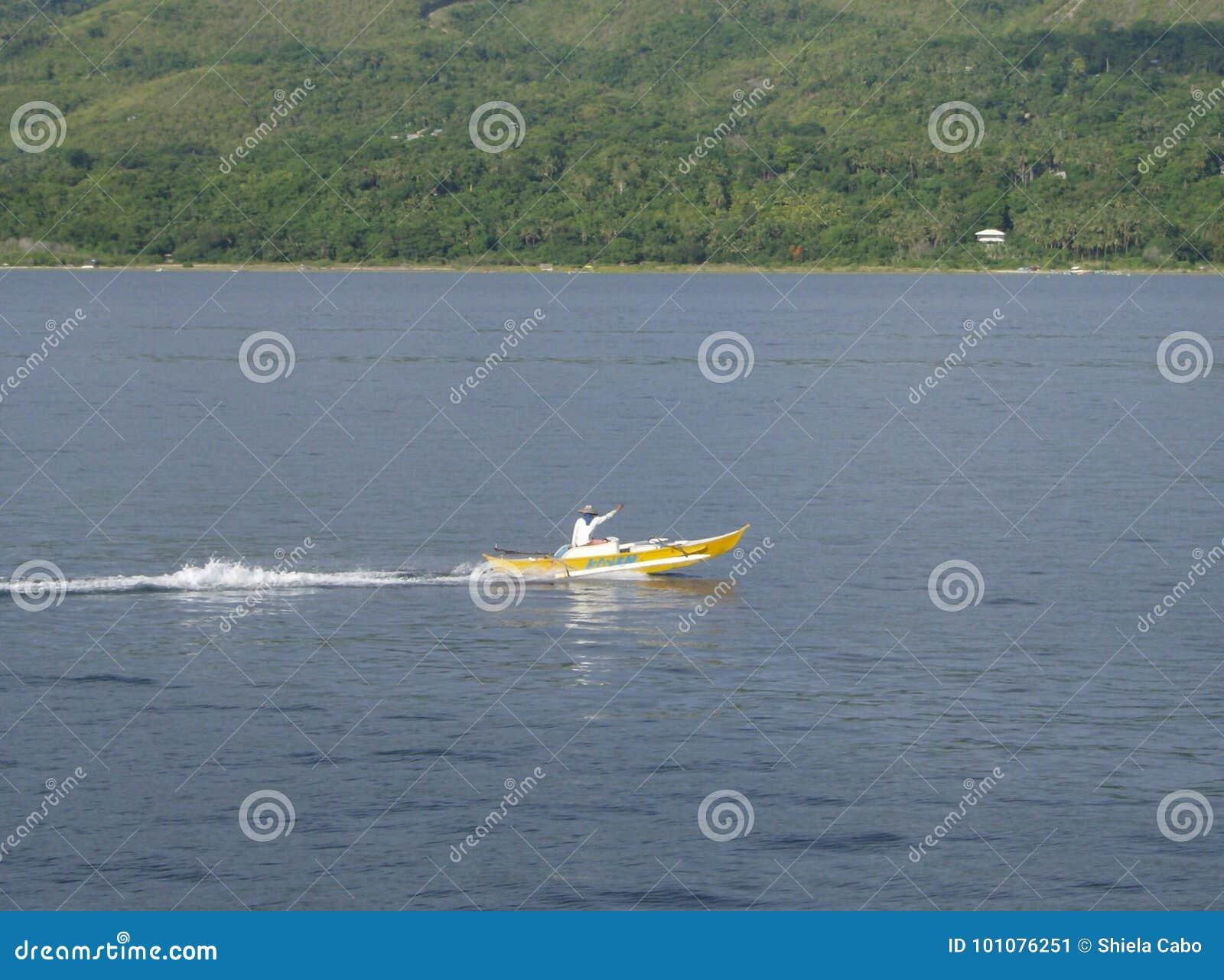 Lake för kustaftonfiskare