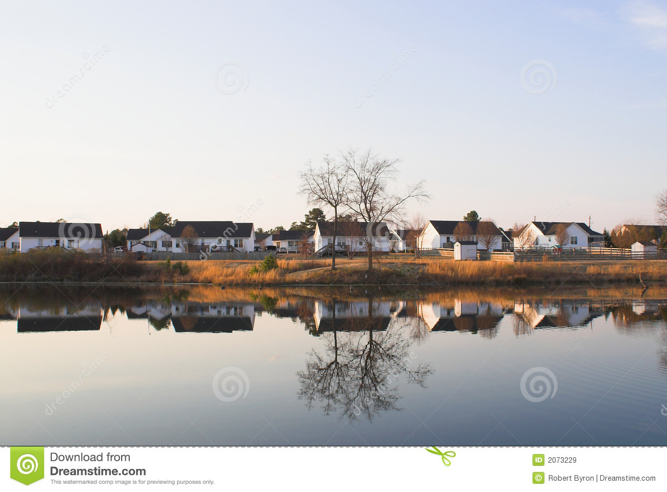Lake Front Property Royalty Free Stock Images Image 2073229