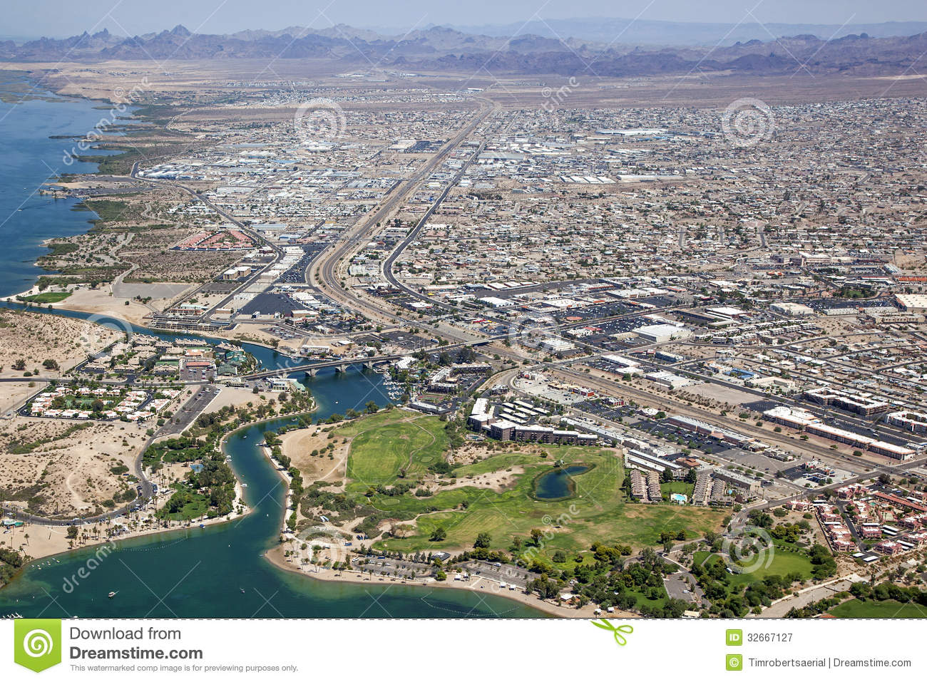 Lake Havasu Arizona Royalty Free Stock Photography