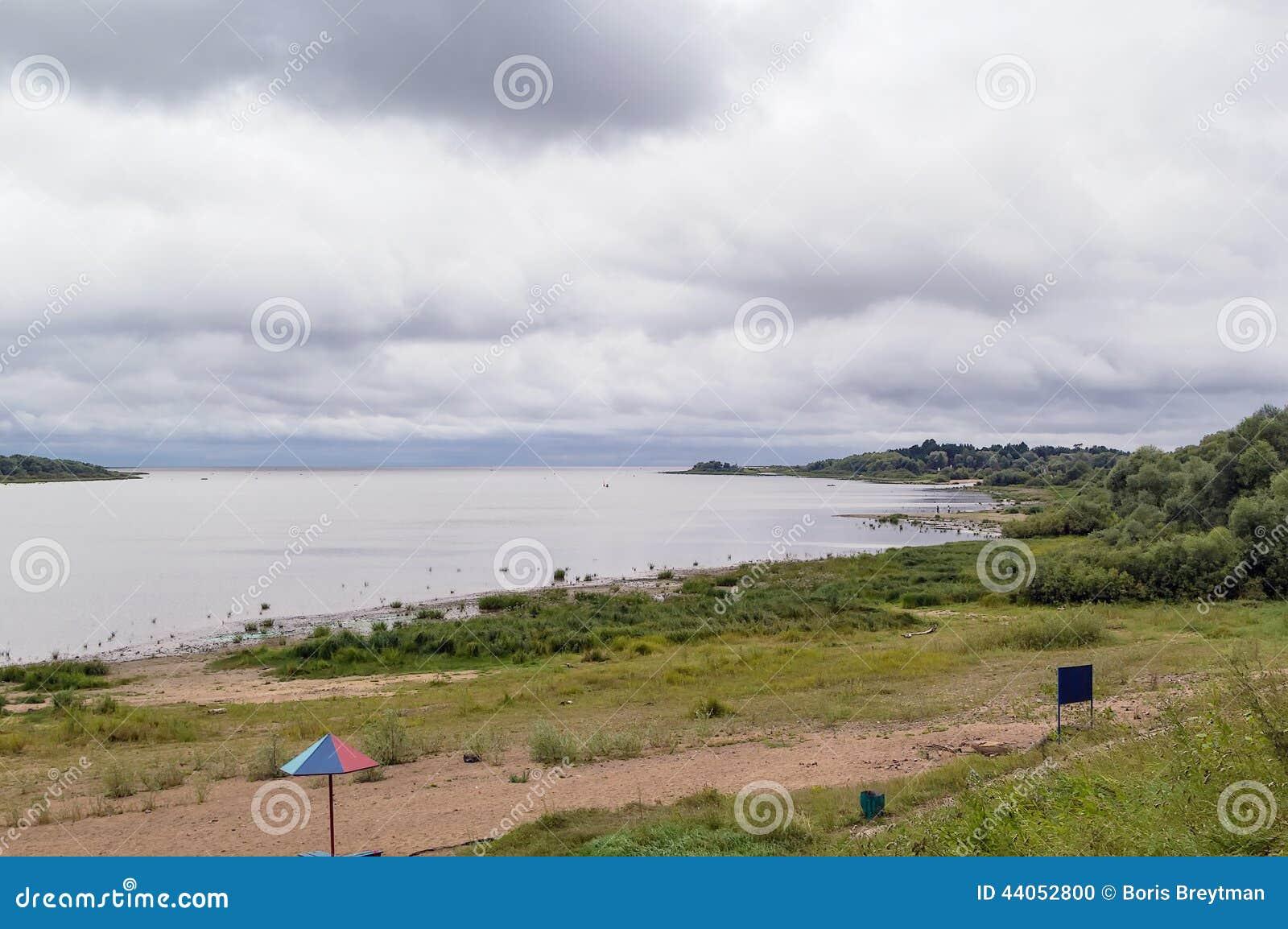 Where is the lake Ilmen in Russia 54