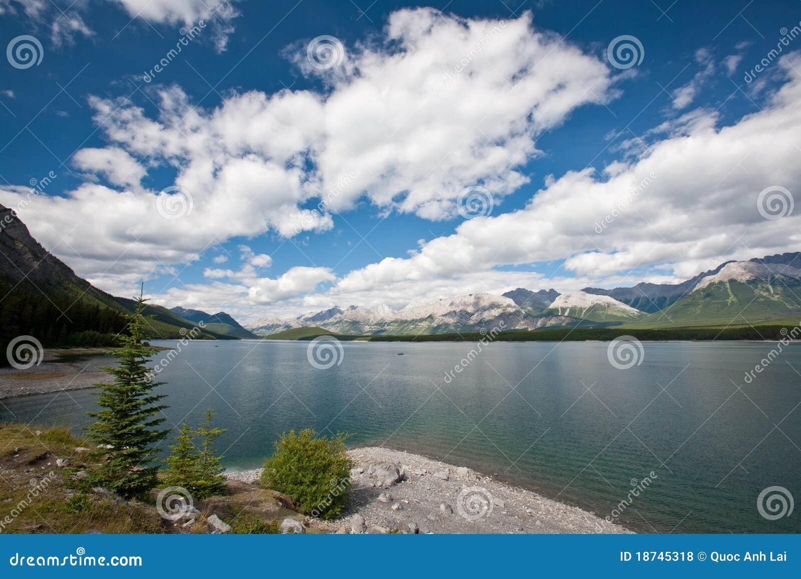 Lake In Kananaskis Country Royalty Free Stock Photos - Image ...