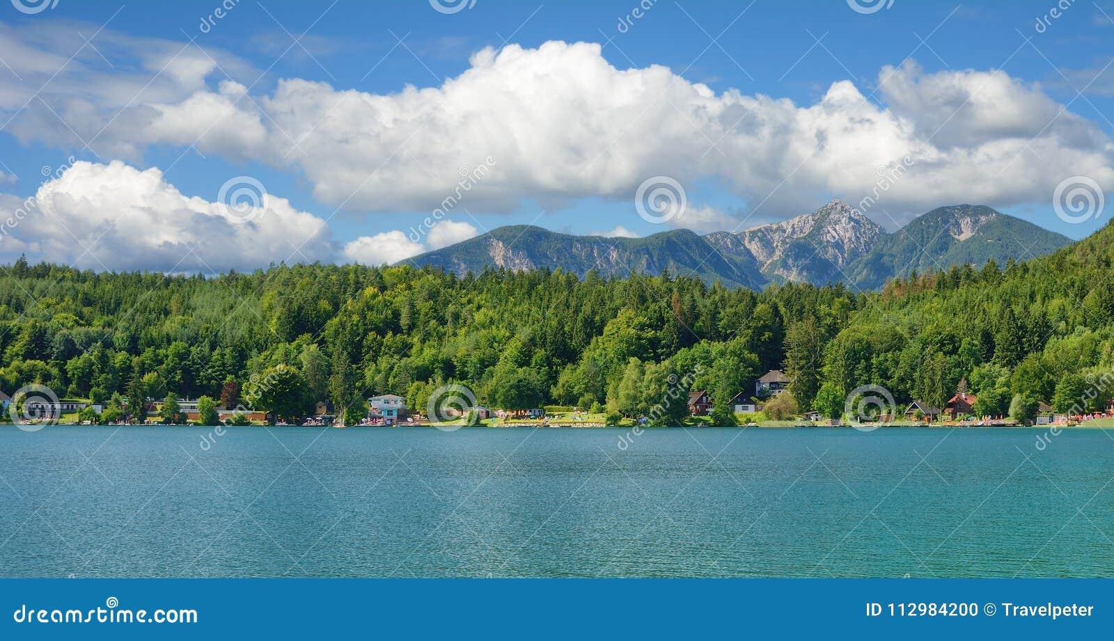Lake Klopeiner See,Carinthia,Austria