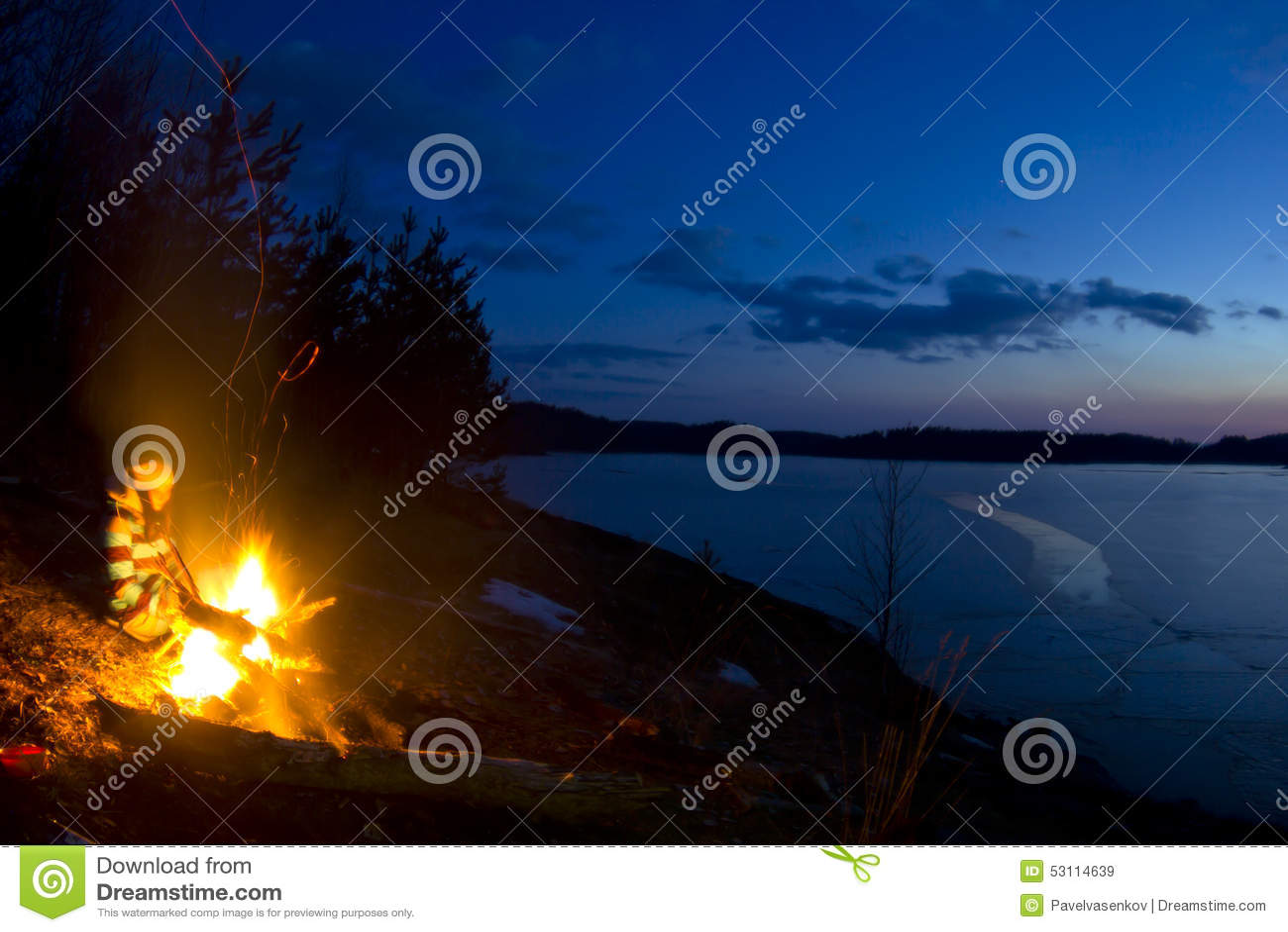 Lake Ladoga, Karelia, Russia Stock Image - Image of ...