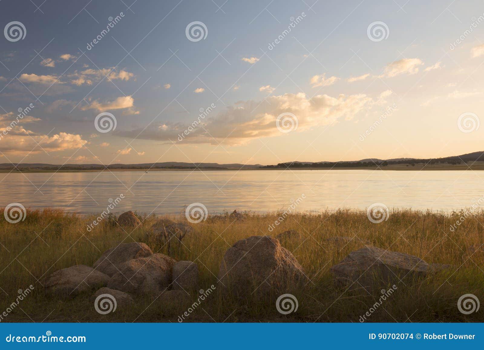 Lake Leslie in Queensland
