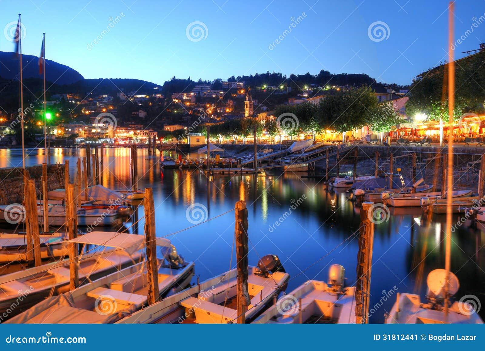 Lake maggiore switzerland stock image image 31812441 for Design hotel tessin
