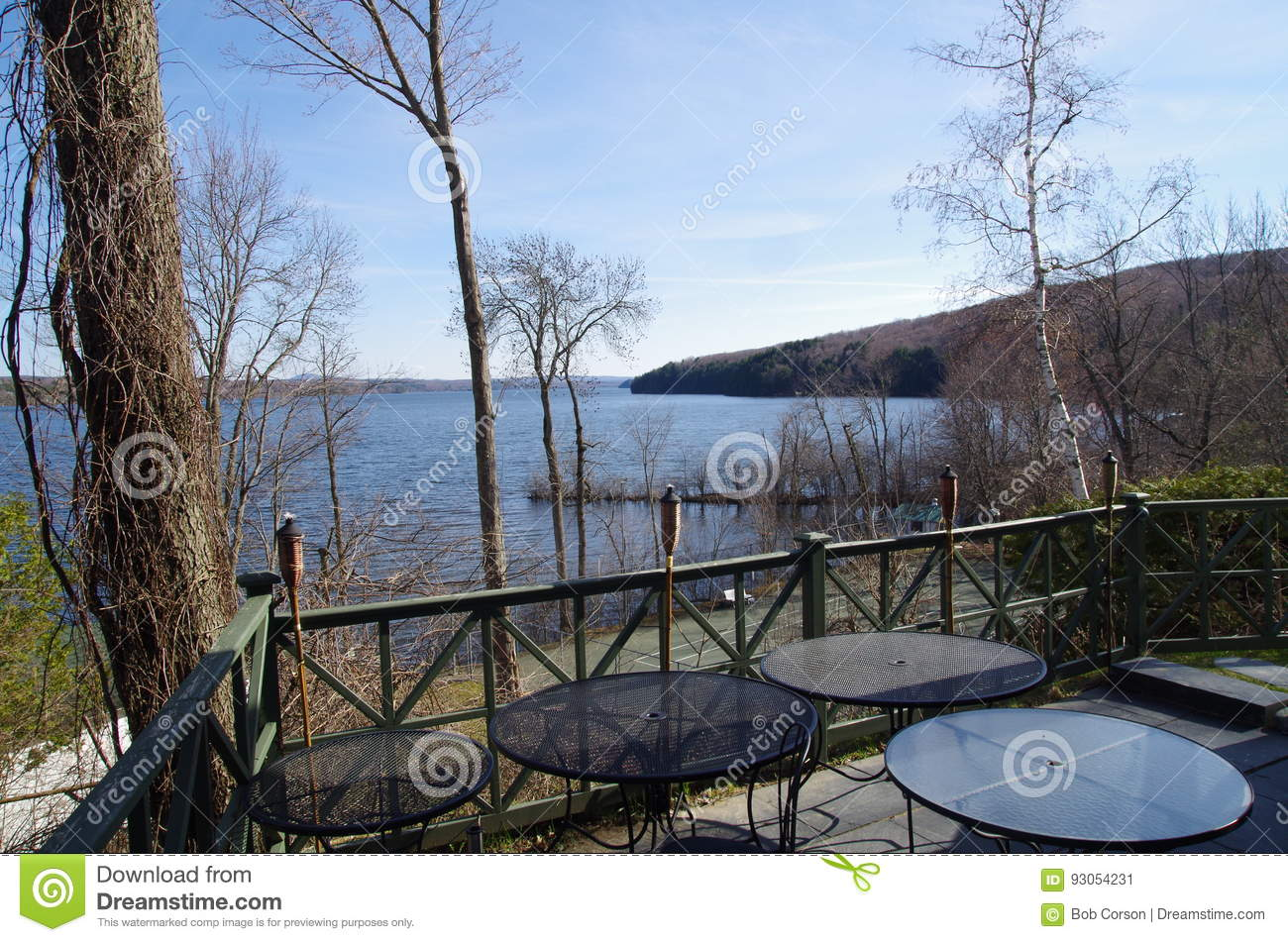Lake Massawippi in the Eastern Townships of Quebec