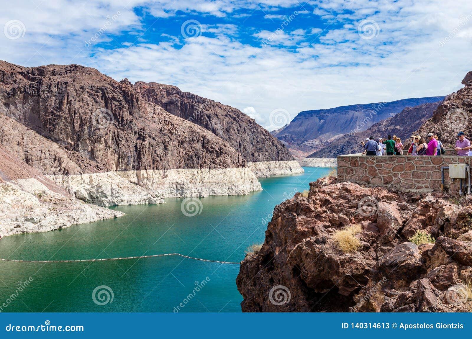 Lake Mead vom Hooverdamm
