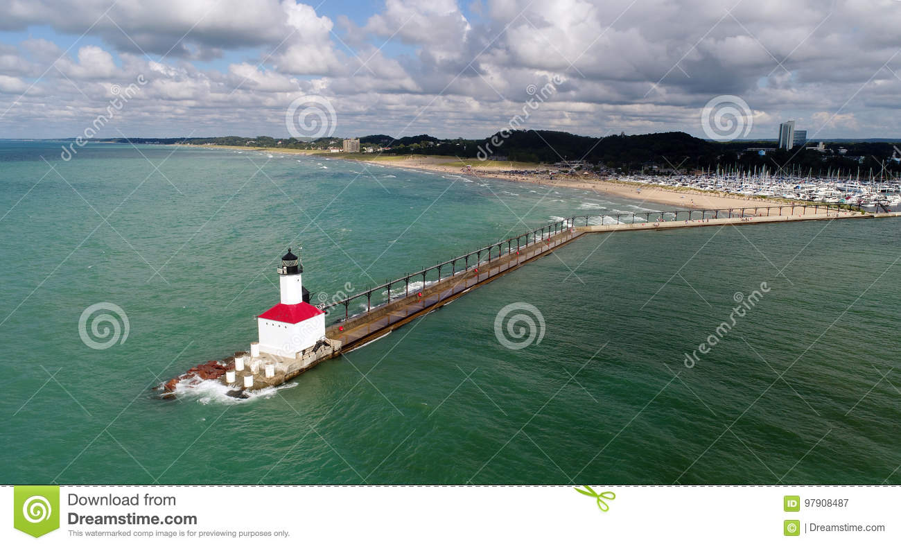 Lake Michigan Lighthouse, Indiana