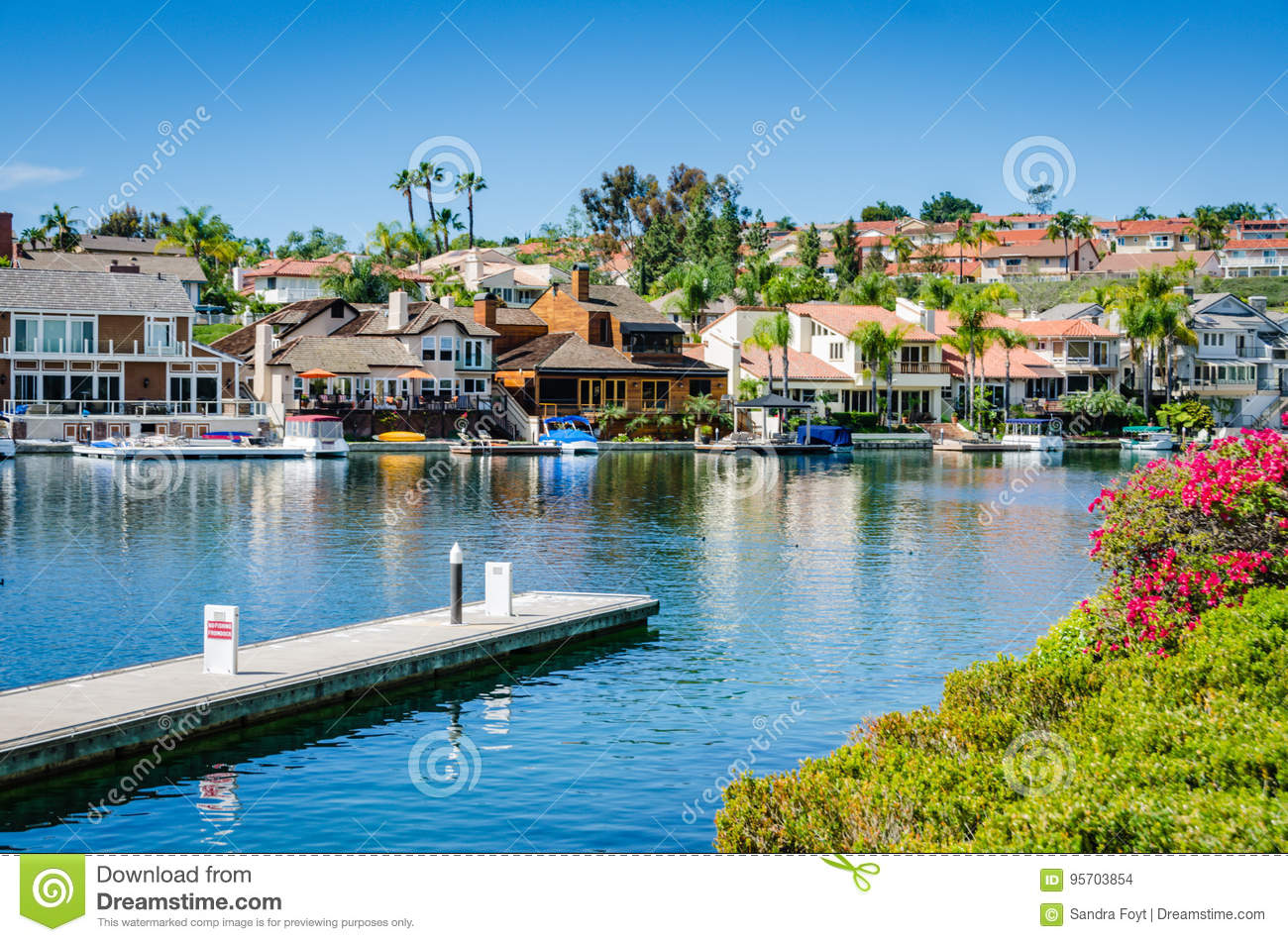 Lake Mission Viejo Mission Viejo California Editorial
