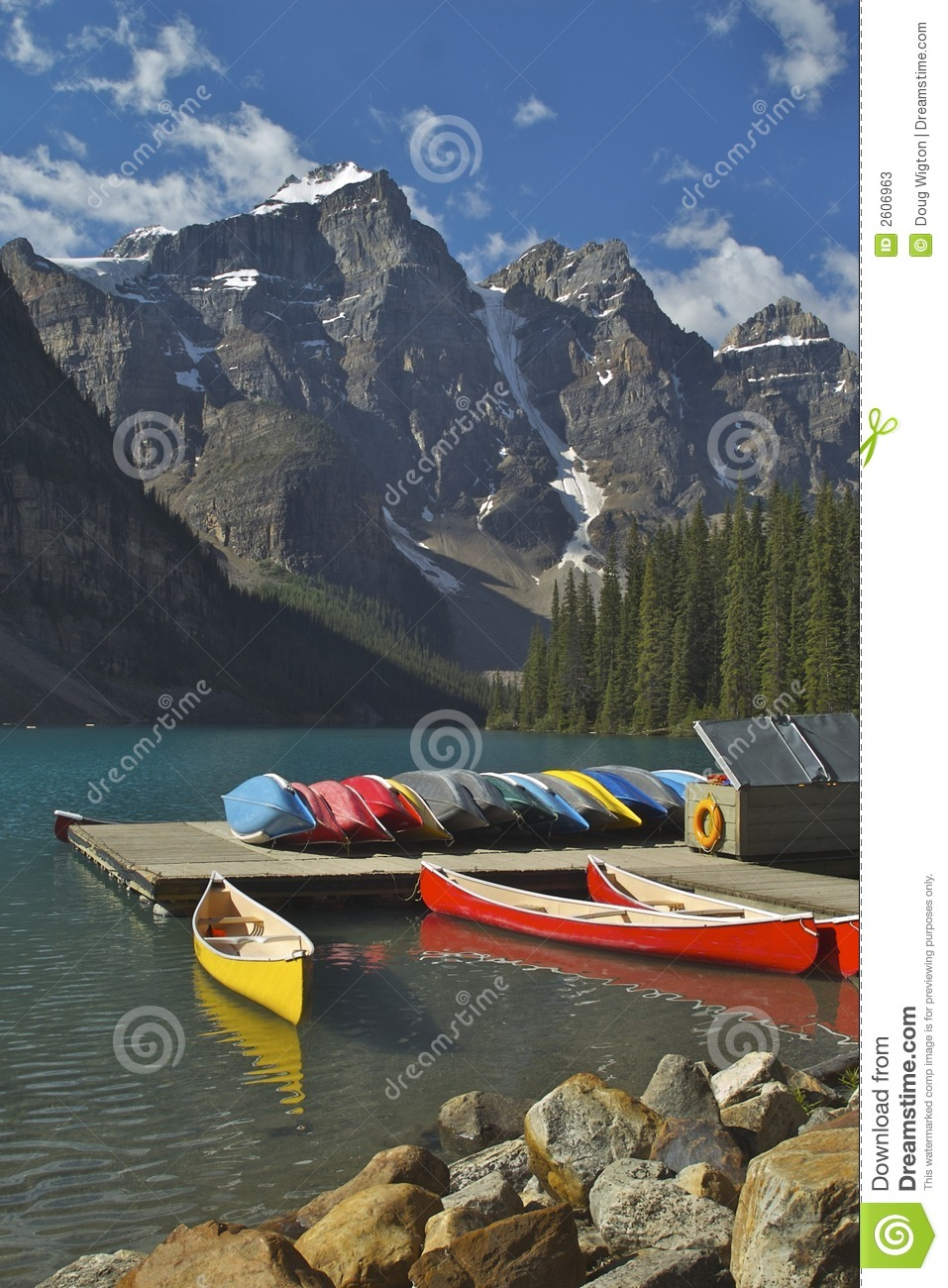 Lake Moraine Boat Dock