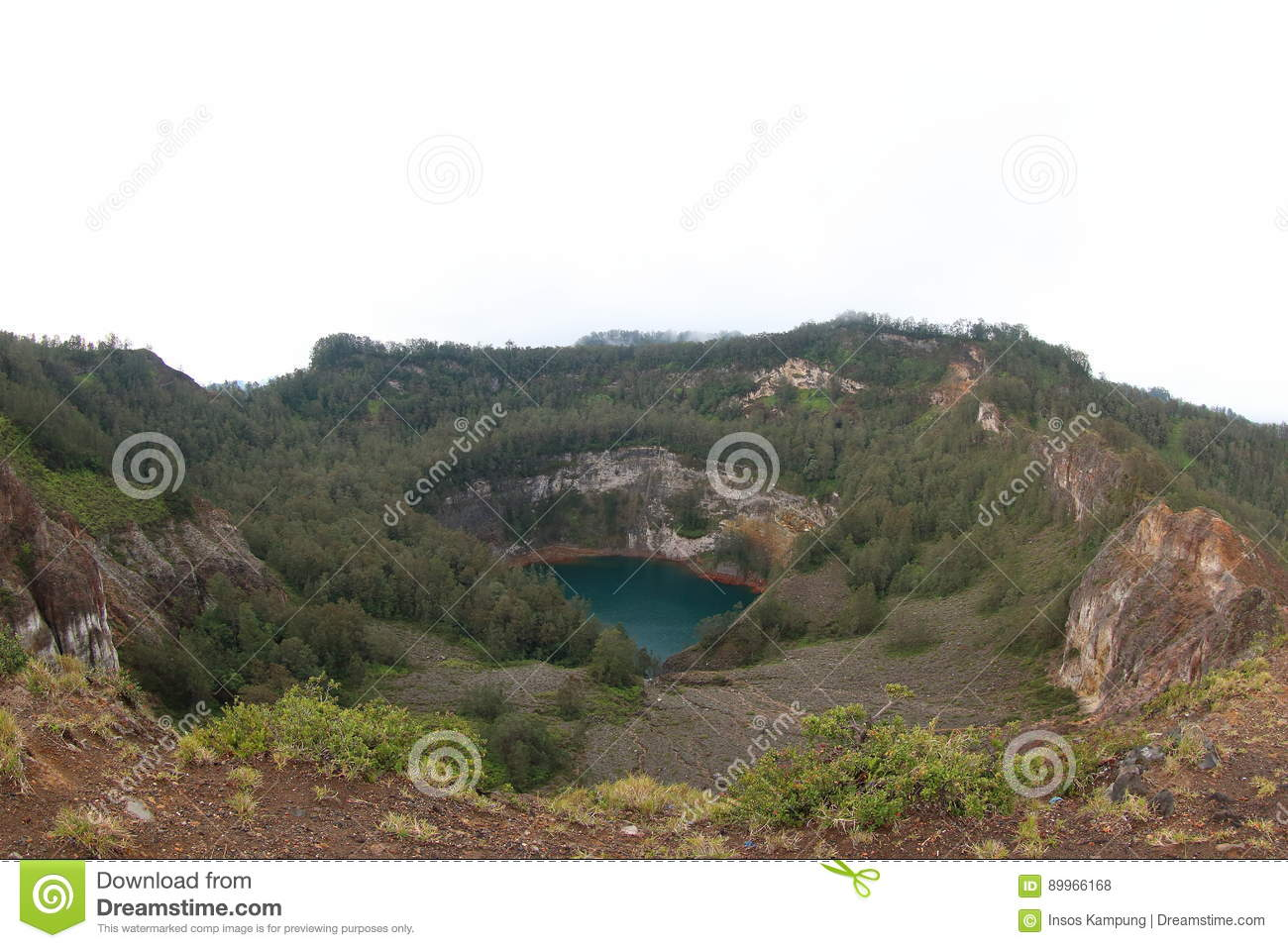 Lake of Old People, Kelimutu Crater Lakes