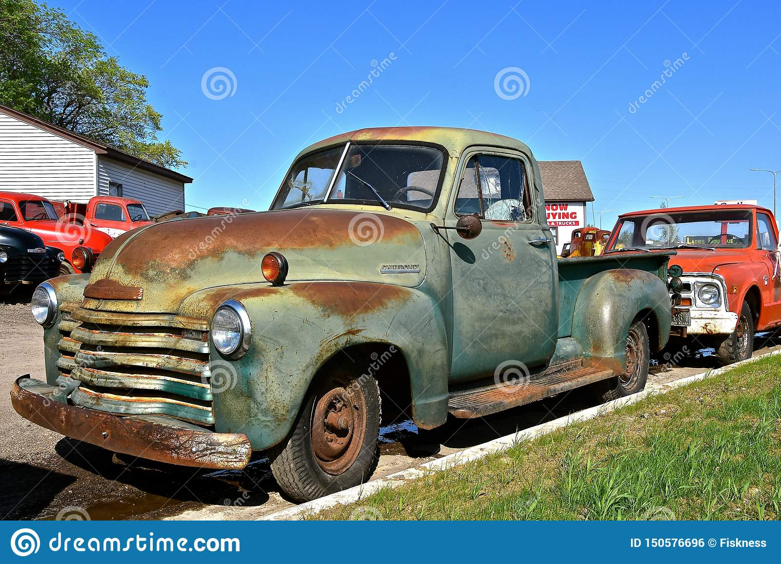 Old Rusty Chevrolet Pickup Editorial Photo Image Of Jalopy 150576696