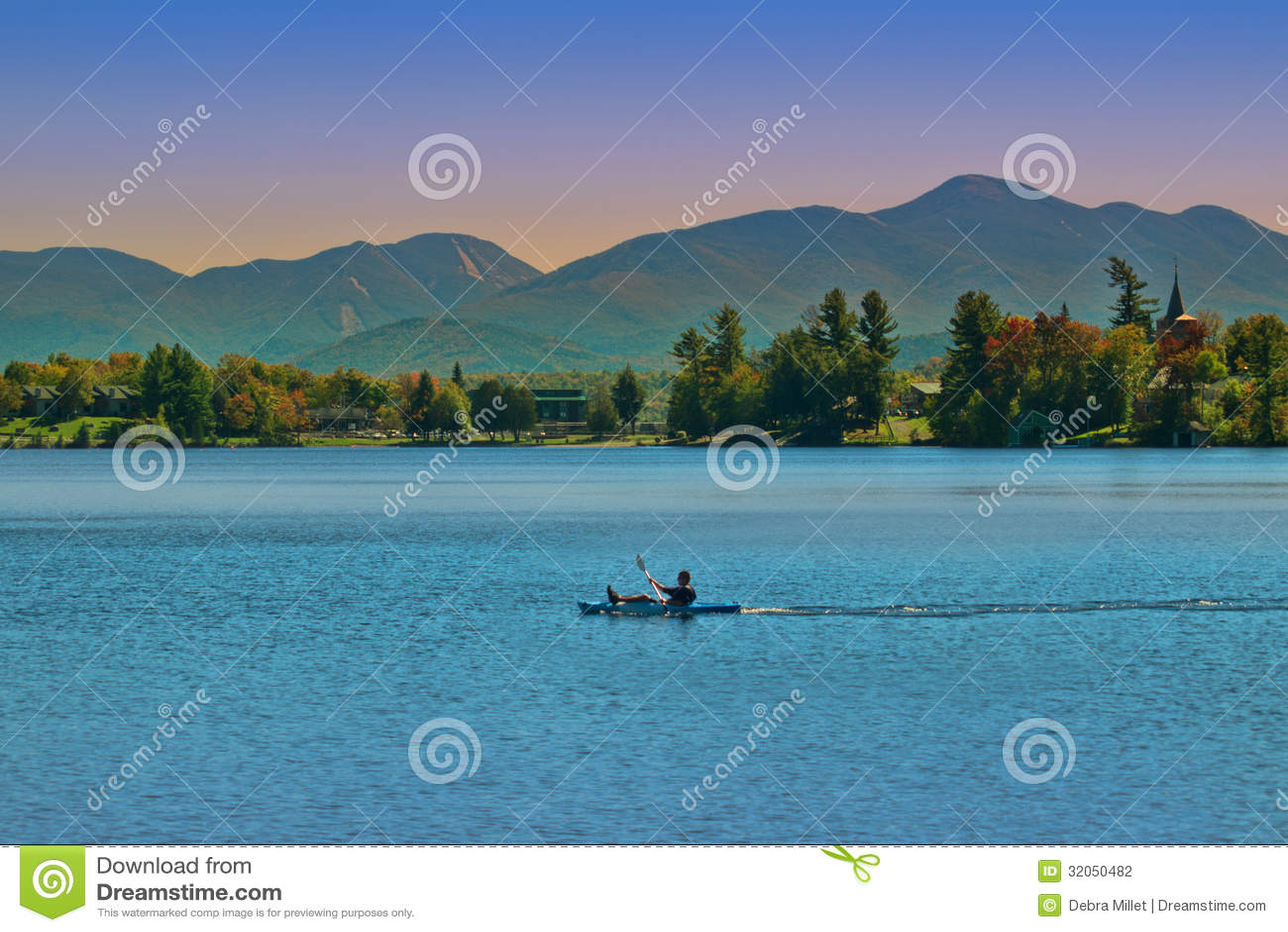 Lake Placid, Нью-Йорк