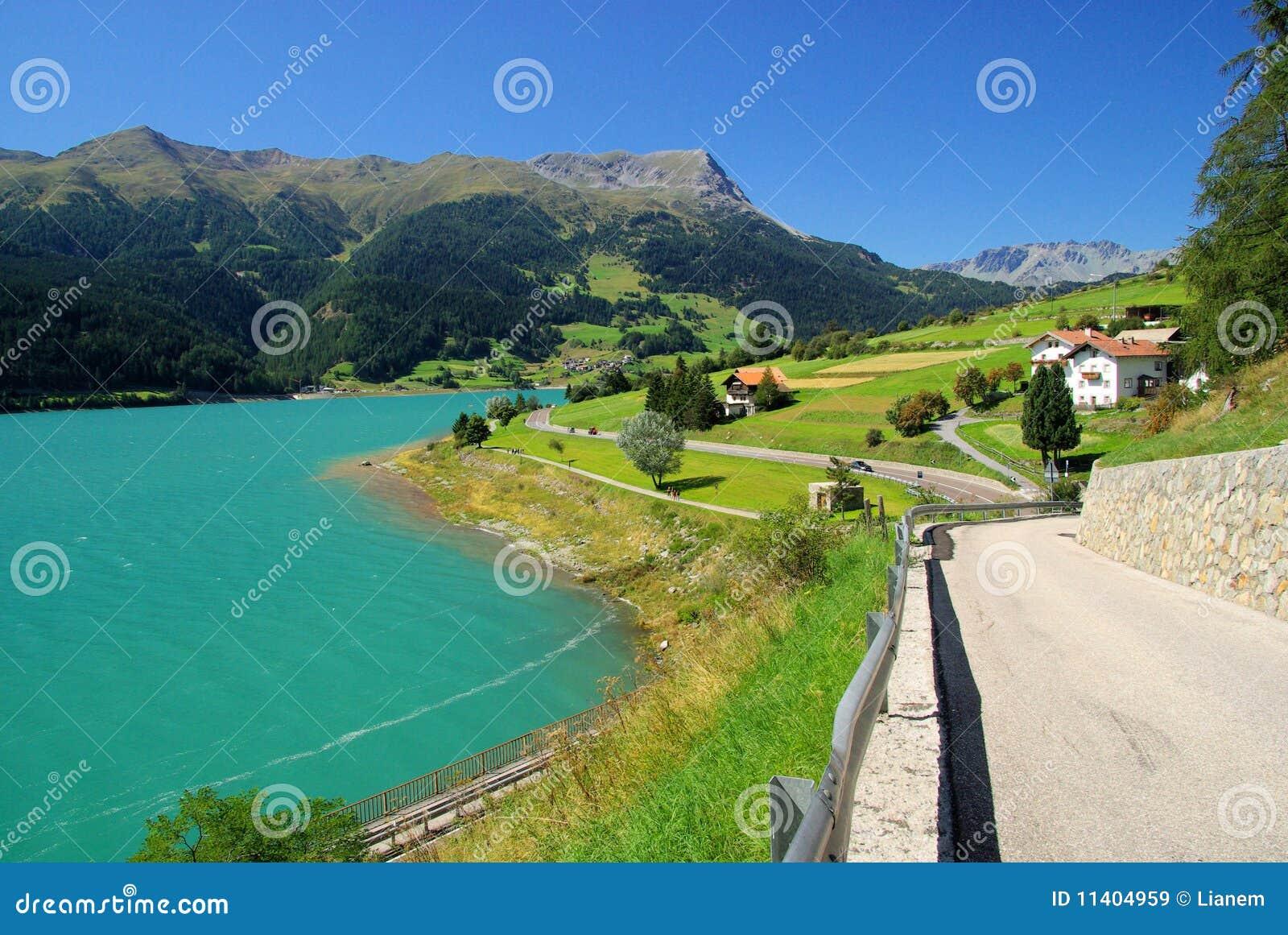 Lake Reschensee