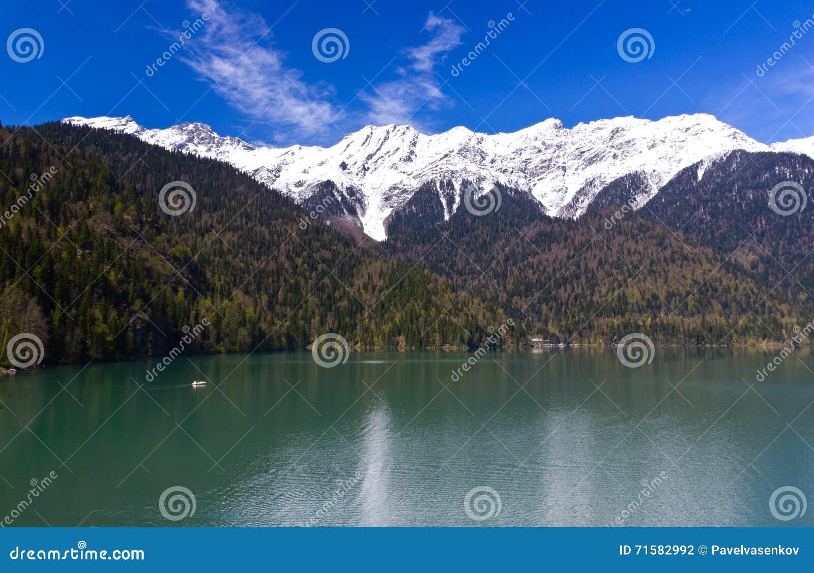 Lake Ritsa Abkhazia 12259 | NOTEFOLIO