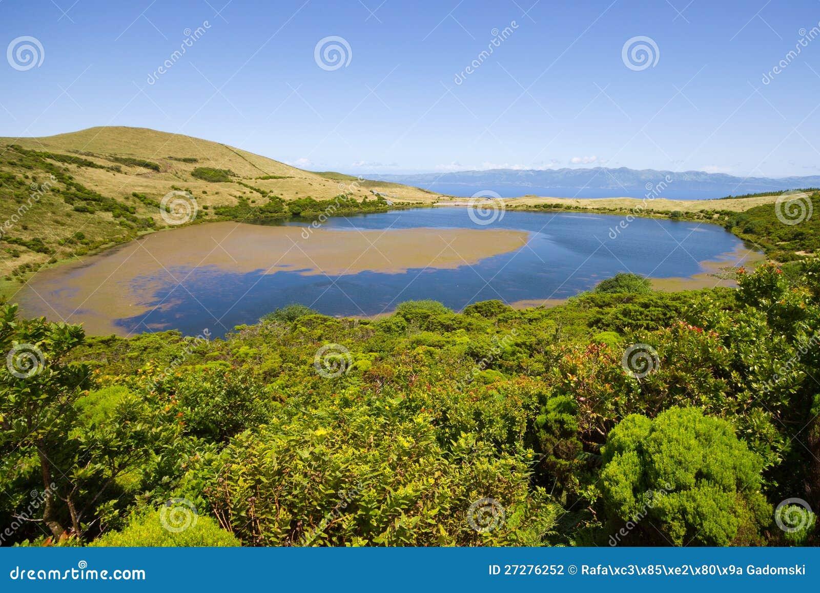 Lake Sant Jorge. Pico ö