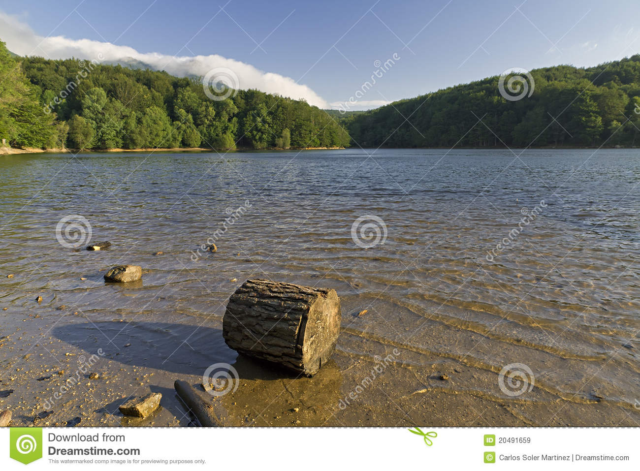 Santa Fe Spain  City new picture : Lake Santa Fe, Montseny. Spain. Located in a beautiful setting of ...
