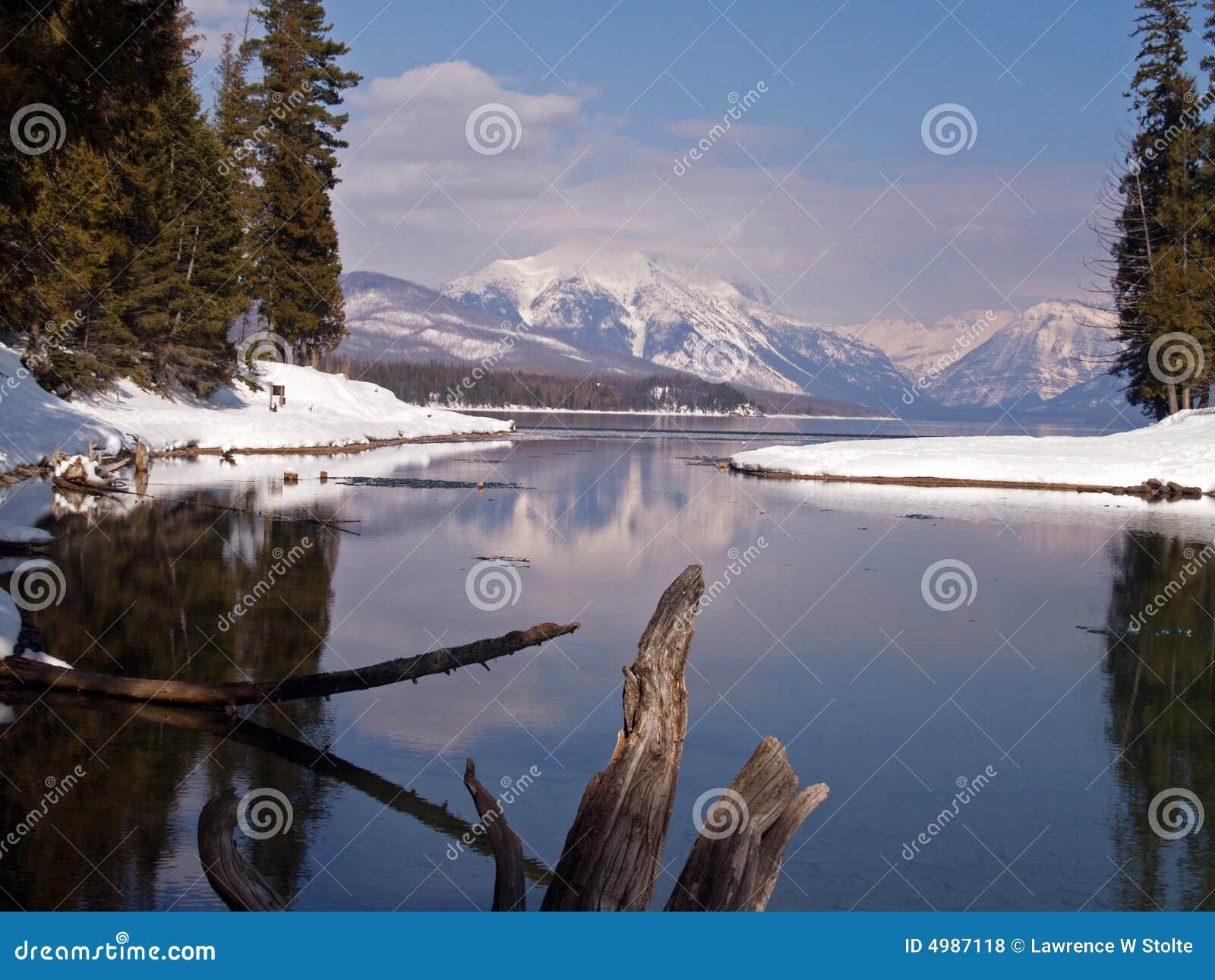 Lake som öppnar till