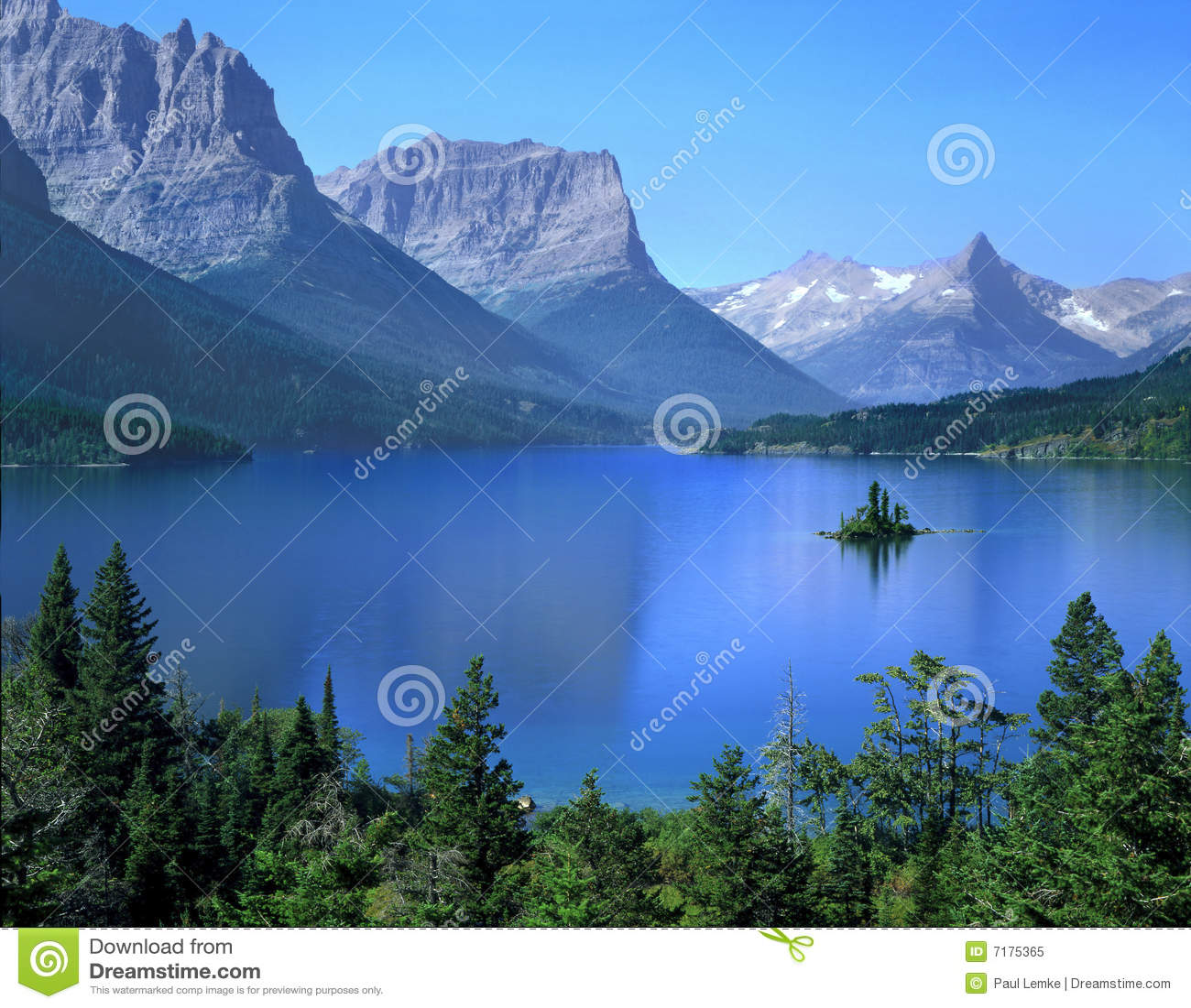 Lake St Mary, Glacier National Park