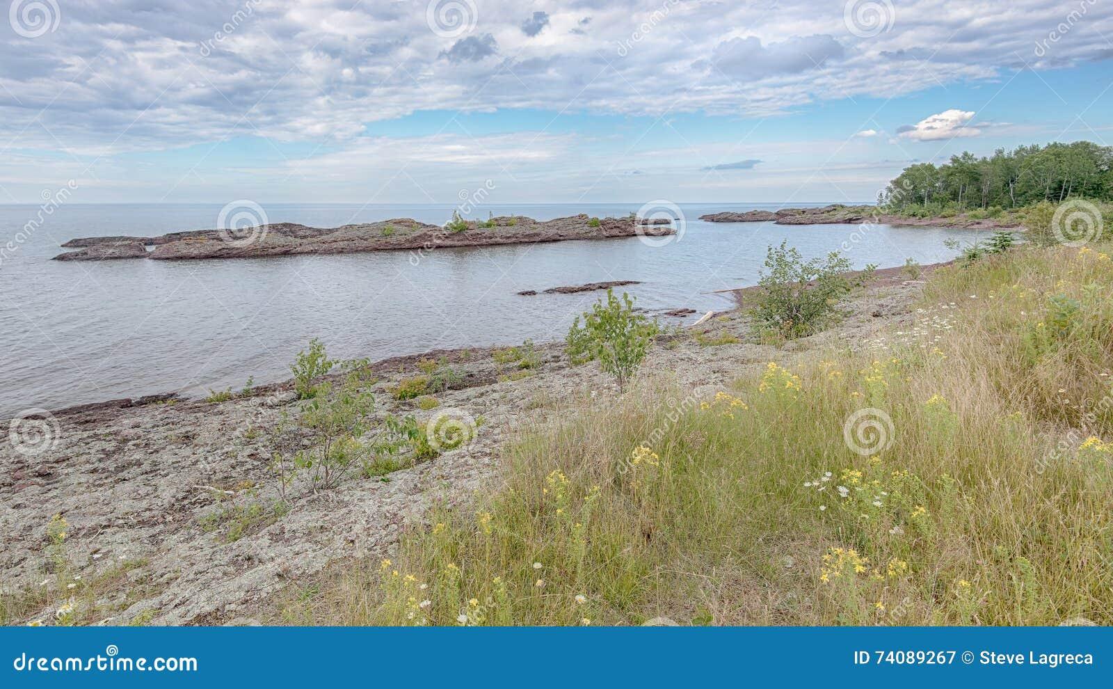 Lake Superior, near Copper Harbor, MI