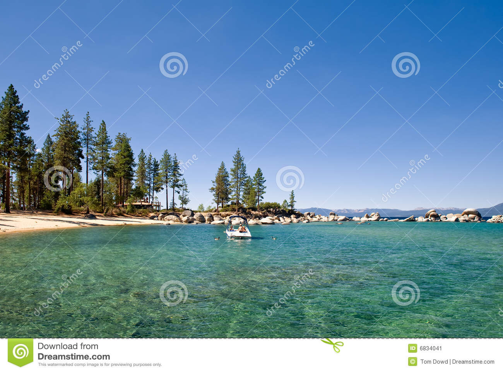 Lake Tahoe América escénica