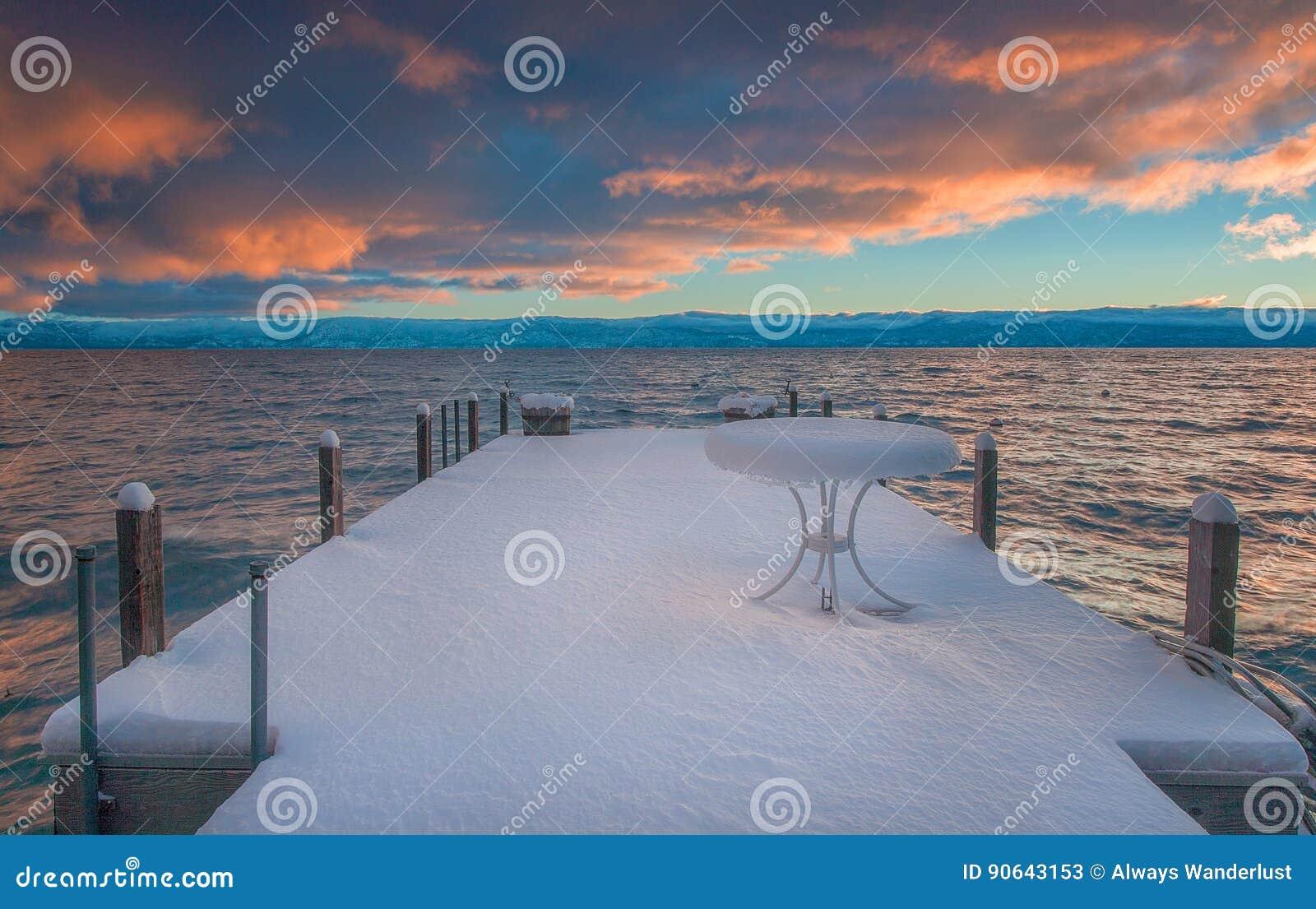 Lake Tahoe bonito Califórnia