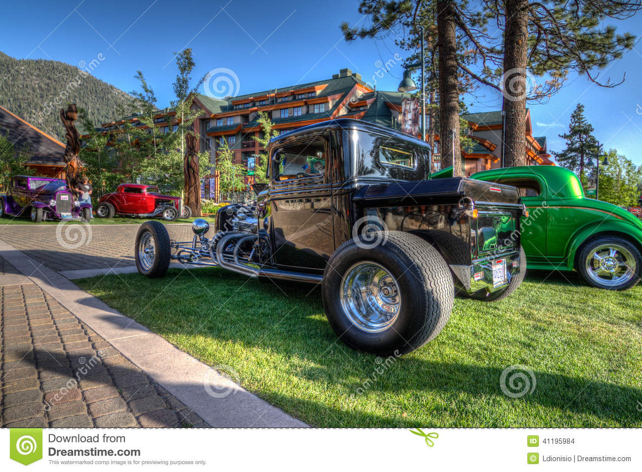 Lake Tahoe Heavenly Car Show Editorial Stock Image Image Of - South lake tahoe classic car show