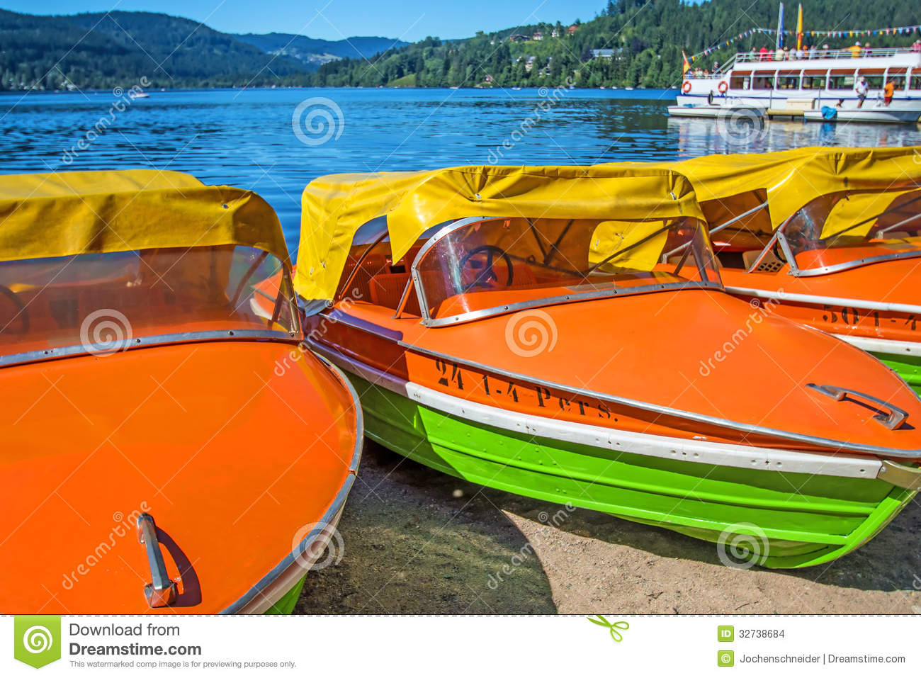 Lake Titisee, Black Forest Germany