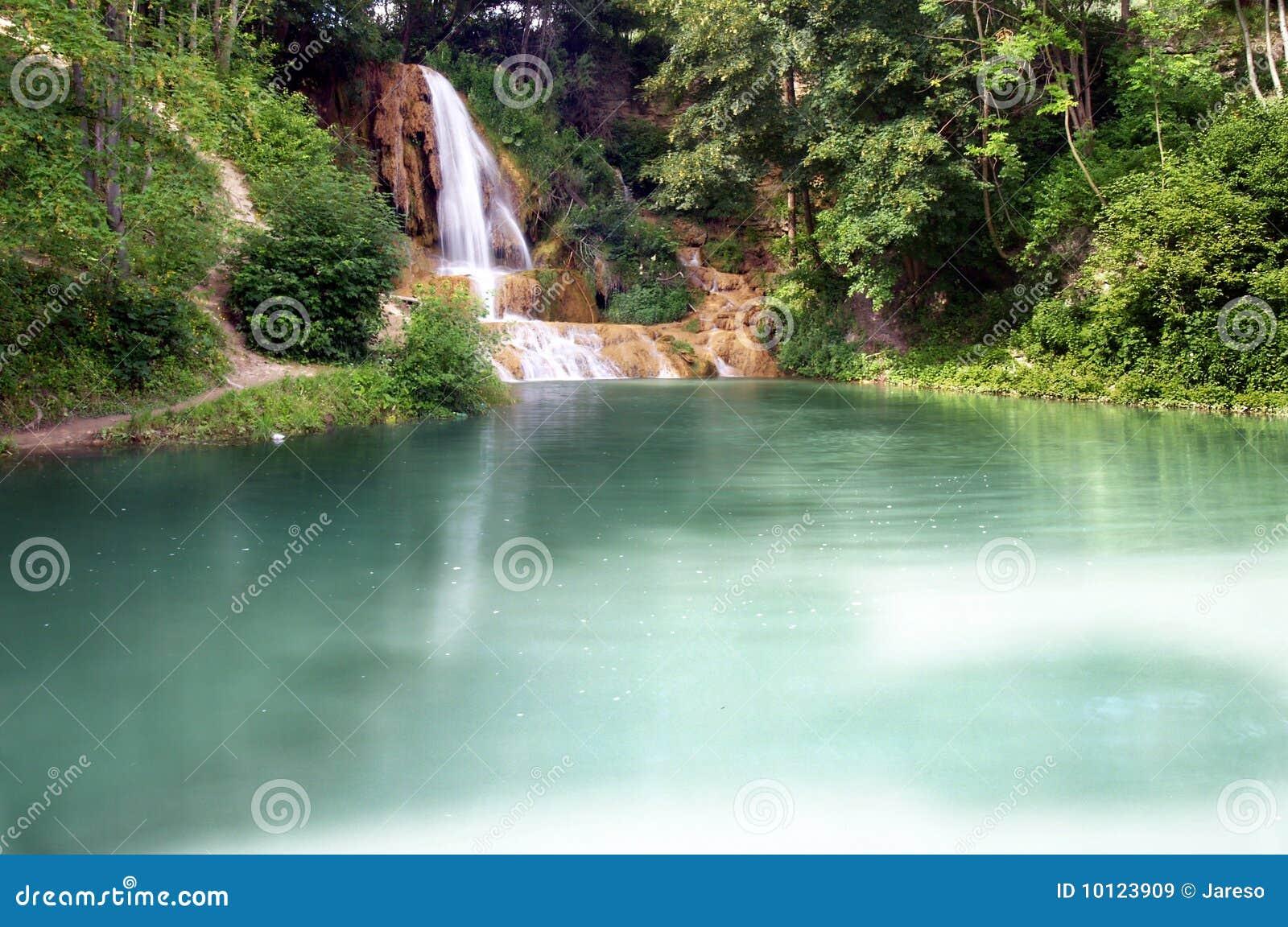Lake & Waterfall