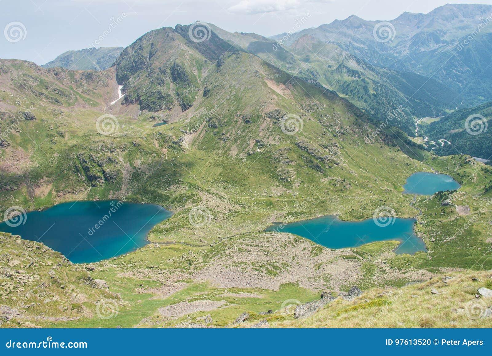Lakes in Andorra