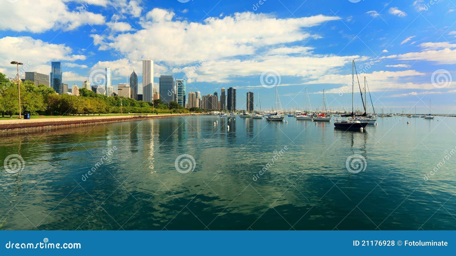 Lakeshore Spur im Stadtzentrum gelegenes Chicago